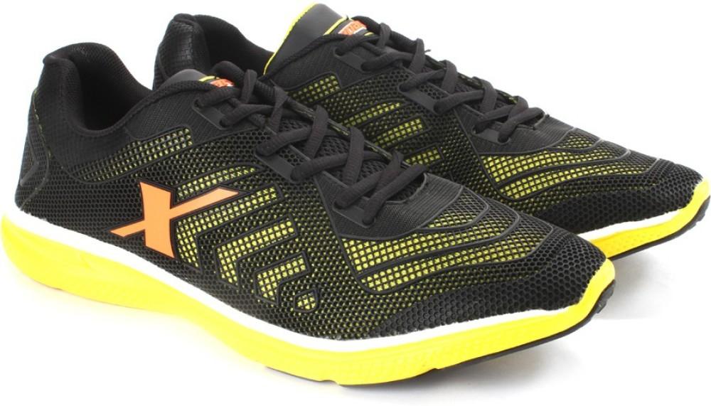 Sparx FURYLITE GM Men Running Shoes Black Yellow