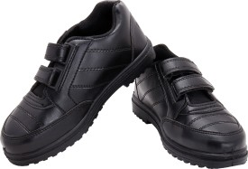 Dynamic Kids Monk Strap School Shoes
