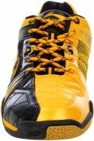 Li-Ning Titan Hybrid Badminton Shoes, Tennis Shoes Black, Yellow