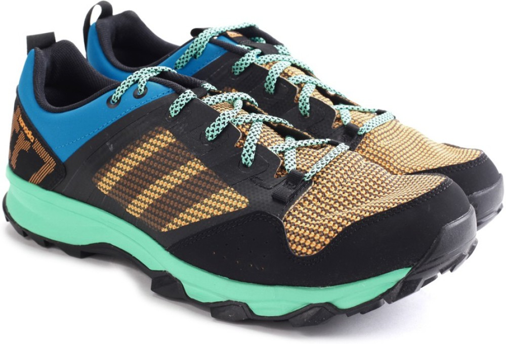 Adidas KANADIA 7 TR M Men Running Shoes Black Blue Green