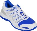 Zovi White Sports With Blue And Silver Accents Running Shoes