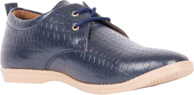 Brandley Croc_Blue Casual Shoes