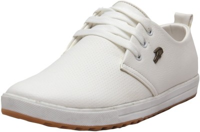 West Code West Code Men's Synthetic Leather Formal Shoes 813-White-7 Casuals