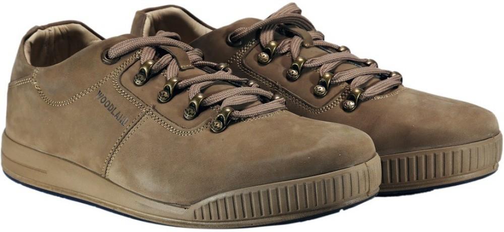 Woodland Casual Shoes Khaki