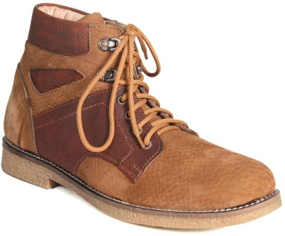 John Karsun Real Leather Tracking Boots