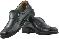 Alpha Man Textured Top Slip On Shoes