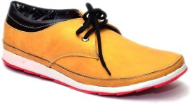 Vogue Guys Mast Yellow Casual Shoes