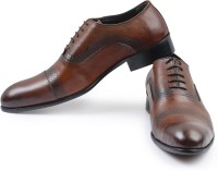 Mister Classy Fish-Scale Oxfords Formal Shoes