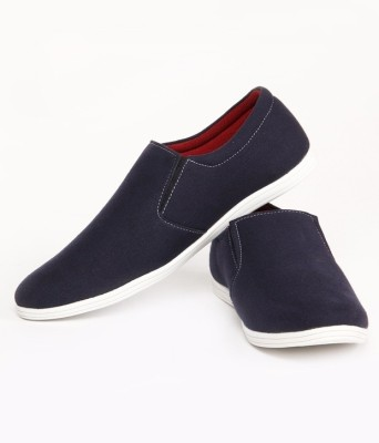 Buy Zapatoz Blue Canvas Loafers On Flipkart | PaisaWapas.com