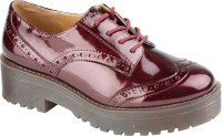 Truffle Collection Het1 Bordo Casual Shoes