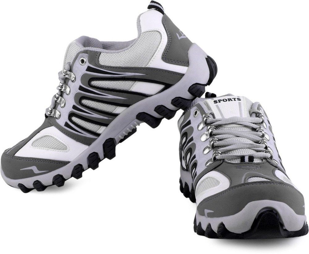 Lancer White Grey Running Shoes