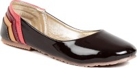 Lovely Chick Lovely Chick Brown Ballerinas SG-MLTPATENT Bellies