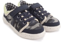 Clarks Kintor Go Inf Navy/Multi Casual Shoes