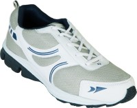 Zovi White Sports With Blue Accents And Mesh Detailing Running Shoes