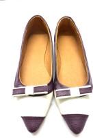 Olive White Purple Ballerinas-212 Bellies