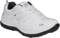 Hitcolus White & Black Sport Running Shoes