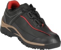 Udenchi Mens Safety Shoe With Steel Toe Casuals Black