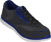Zovi Dark Grey And Blue Running Shoes