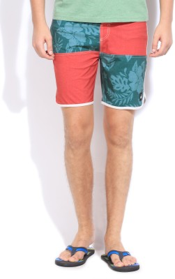 Quik Silver Quiksilver Floral Print Men's Boxer Shorts (Yet To Be Reviewed)