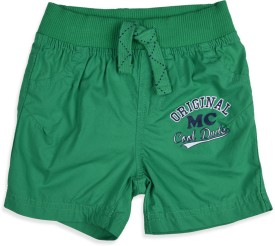 Mothercare Solid Boy's Basic Shorts