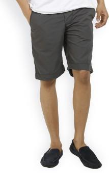 Truccer Basics Solid Men's Basic Shorts