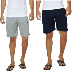 Alan Jones Solid Men's Bermuda Shorts, Gym Shorts, Night Shorts, Beach Shorts, Running Shorts, Sports Shorts