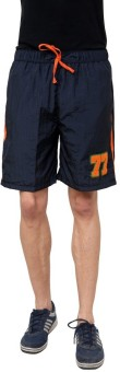 NU9 2033 Solid Men's Basic Shorts