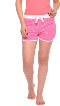 Vvoguish Polka Print Women's Basic Shorts