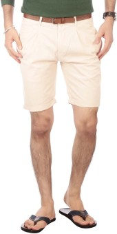 Vettorio Fratini By Shoppers Stop Solid Men's Basic Shorts