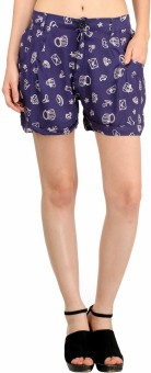 Snoby Printed Women's Basic Shorts
