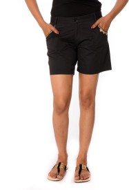 Oviya Solid Women's Basic Shorts