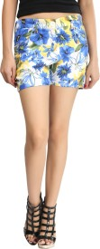 Lqqke Printed Women's Basic Shorts