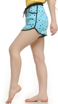 Private Lives Polka Print Women's Basic Shorts