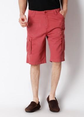 Wrangler Wrangler Solid Men's Shorts (Beige\/Sand\/Tan)