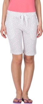 Lovable Polka Print Women's Basic Shorts