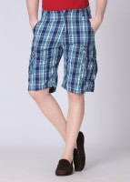 Rat Trap Checkered Men's Cargo Shorts