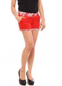 Vvoguish Printed Women's Basic Shorts