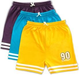 Njoy Solid Boy's Multicolor Beach Shorts, Bermuda Shorts, Swim Shorts, Running Shorts, Cycling Shorts, Night Shorts, Gym Shorts, Basic Shorts, Sports Shorts, Boxer Shorts