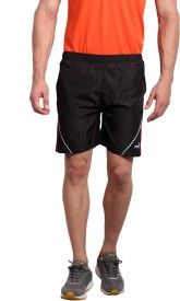 Fitz Solid Men's Black Basic Shorts