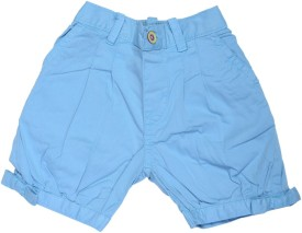 Catapult Woven, Solid Girl's Bermuda Shorts