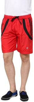 NU9 2041 Solid Men's Basic Shorts