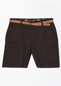 Wear Your Mind Solid Men's Basic Shorts