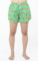 TeesTadka Printed Women's Boxer Shorts - SRTEFHHPUCYARCZP