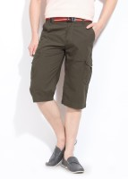 Wear Your Mind Solid Men's Cargo Shorts