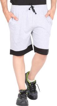 Checker S Bay JACK24 DD-GR Solid Men's Sports Shorts