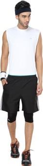 Proline Active Solid Men's Reversible Denim Shorts