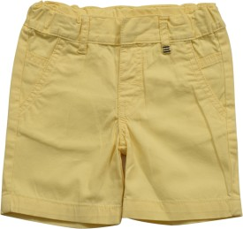 Irene Solid Baby Boy's Basic Shorts