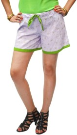 S9 Women Printed Women's Basic Shorts