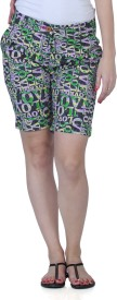 Fast N Fashion Printed Women's Night Shorts
