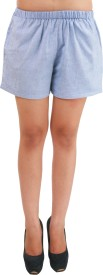 Hypernation Solid Women's Basic Shorts